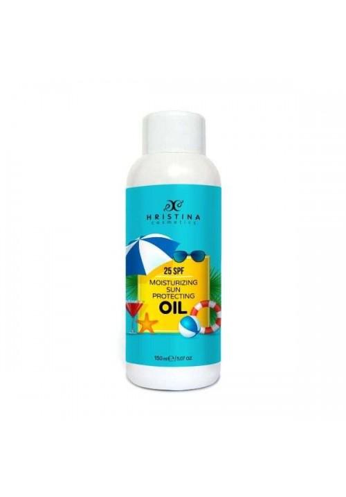 Cлънцезащитно масло 25 фактор