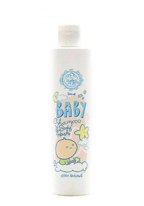 Бебешки шампоан за коса и тяло