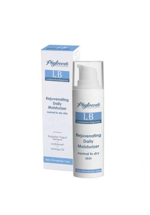 Хидратиращ крем за младежко излъчване, за суха и нормална кожа Phytocode LB
