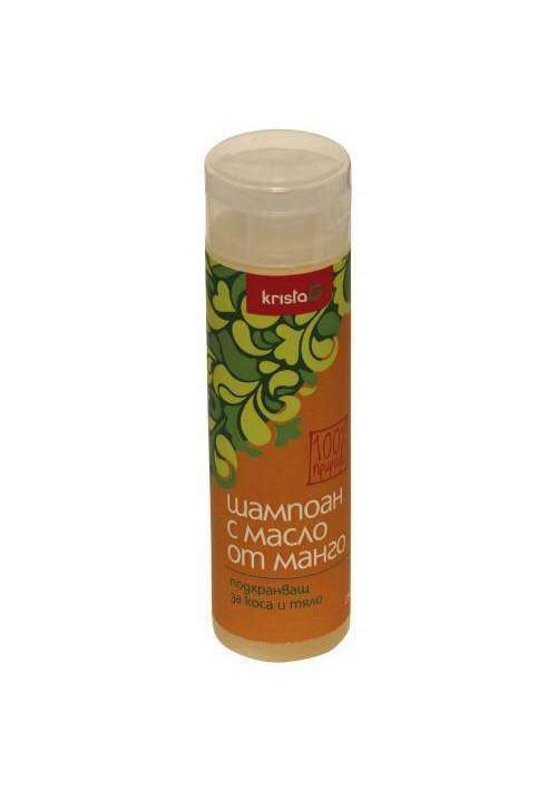 Подхранващ шампоан за коса с масло от манго
