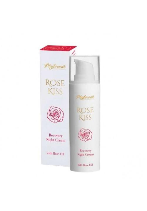 Възстановяващ нощен крем Phytocode Rose Kiss